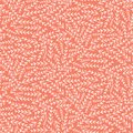 Pink white leaf floral texture seamless pattern