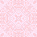 Pink white seamless pattern abstract parrern with geometric ornament can be used as wallpaper web page background textile design Royalty Free Stock Photography