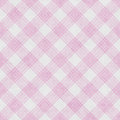 Pink And White Striped Gingham...
