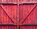 Pink wooden gate background of old Stock Photography