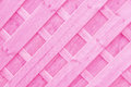 Pink Wooden lattice or trellis background Royalty Free Stock Photo