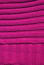 Pink wool background close up crochet texture Royalty Free Stock Photo