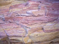 Pink and yellow sandstone Stock Photos