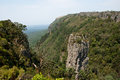 Pinnacle rock free standing buttress in blyde canyon south africa Royalty Free Stock Images