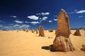 Pinnacles Desert Royalty Free Stock Image