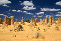 Pinnacles Desert,Western Australia Stock Image