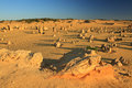 Pinnacles Desert,Western Australia Stock Photo