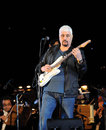 Pino daniele a portrait of italian singer Royalty Free Stock Photo