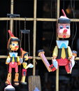 Pinocchio puppets Royalty Free Stock Photo