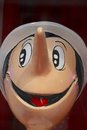 Pinocchio wooden puppet Royalty Free Stock Photo