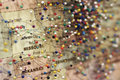 Pins on map a of midwest america Stock Photos