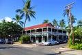 Pioneer Inn, Lahaina, Maui Royalty Free Stock Photos