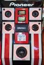 Pioneer sound Royalty Free Stock Photo