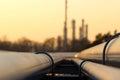 Rúrka linka v surový olej rafinérie