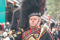 Pipe Major at Braemar Royal Gathering Royalty Free Stock Photos