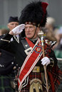 Pipe Major - Highland Games - Scotland Royalty Free Stock Photos