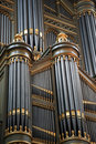 Pipe organ Stock Images