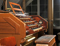 Pipe organ in Cathedral Royalty Free Stock Photography
