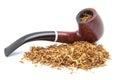 Pipe to smoke tobacco Royalty Free Stock Photo