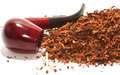 Pipe and tobacco Royalty Free Stock Photo