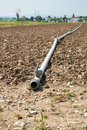Pipeline for irrigation Royalty Free Stock Photo