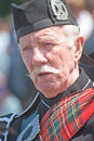 Piper at inverness highland games portrait of a playing held on th july Royalty Free Stock Photos