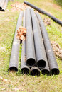 Pipes synthetic pipeline Royalty Free Stock Photos