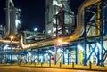 Potrubí systém v průmyslový rostlina