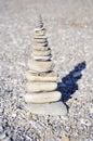 Piramid of stones Royalty Free Stock Photo