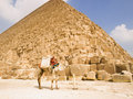 Piramide van Cheops Stock Foto's