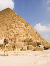 Piramide van Cheops Stock Foto
