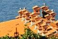 Piran's roofs Royalty Free Stock Photo