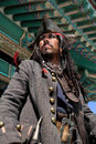 Pirate In Asia Royalty Free Stock Photo