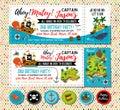 Pirate birthday invitation. Treasure Map Invitation. Pirate Party Decorations for Birthday Party or Baby Shower. Pirate