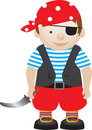 Pirate boy Royalty Free Stock Photos