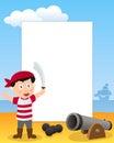 Pirate Boy Photo Frame