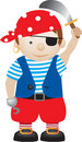 Pirate cartoon Stock Photos