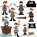 Pirate Children Stock Image