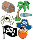 Pirate collection 2 Royalty Free Stock Photography