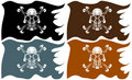 Pirate Flags Stock Photo