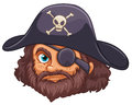 Pirate head Royalty Free Stock Photo