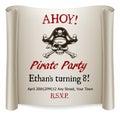 Pirate Kids Birthday Party Inv...