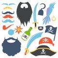 Pirate props set