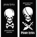 Pirate skulls Royalty Free Stock Photography