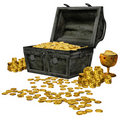 Pirate treasure Royalty Free Stock Photography