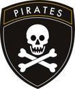 pirates flag Royalty Free Stock Photo