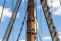 Pirates Ship or Sailing Boat Royalty Free Stock Photo