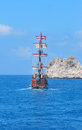 Piratical ship Stock Photo