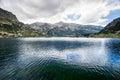 Pirin山风景 免版税图库摄影