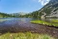 Pirin山风景 免版税库存照片